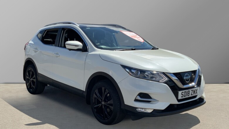 Nissan Qashqai 1.2 Dig-T N-Connecta [glass Roof Pack] 5Dr Petrol Hatchback