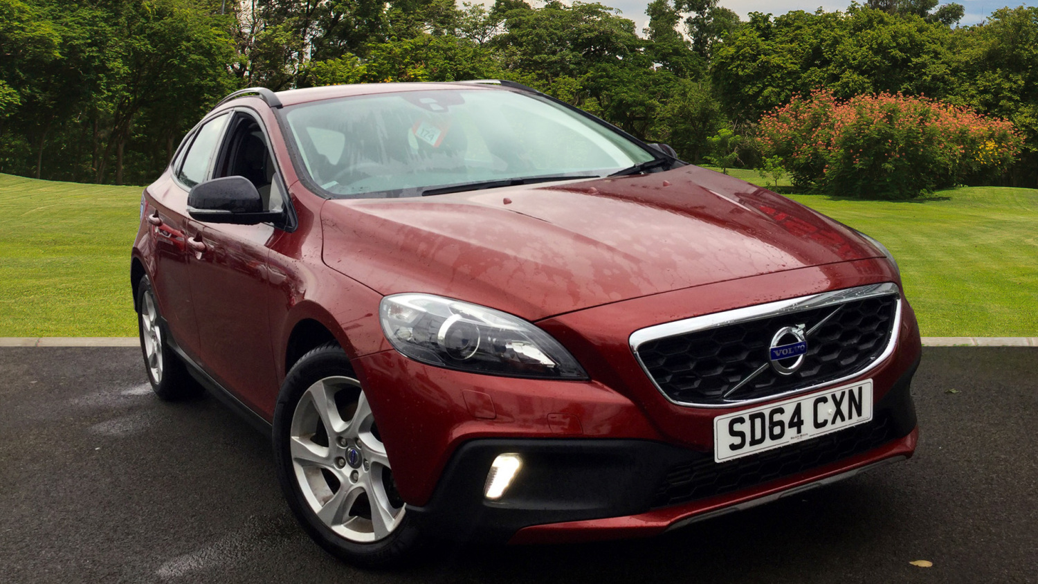 used volvo v40 d2 cross country lux 5dr powershift diesel. Black Bedroom Furniture Sets. Home Design Ideas