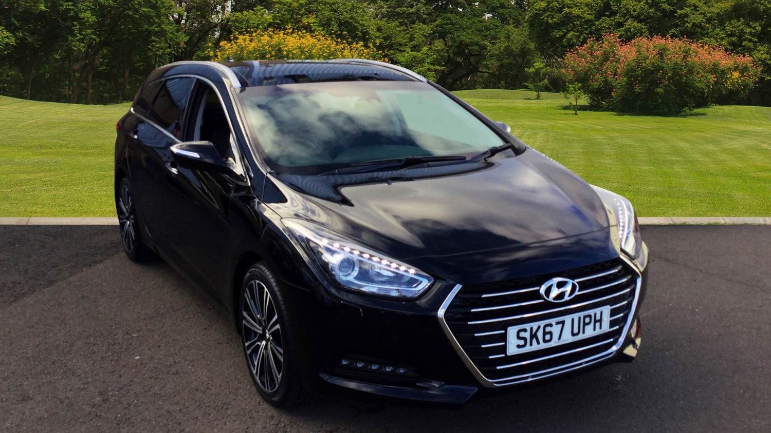 used hyundai i40 1 7 crdi blue drive premium 5dr dct diesel estate for sale in scotland. Black Bedroom Furniture Sets. Home Design Ideas