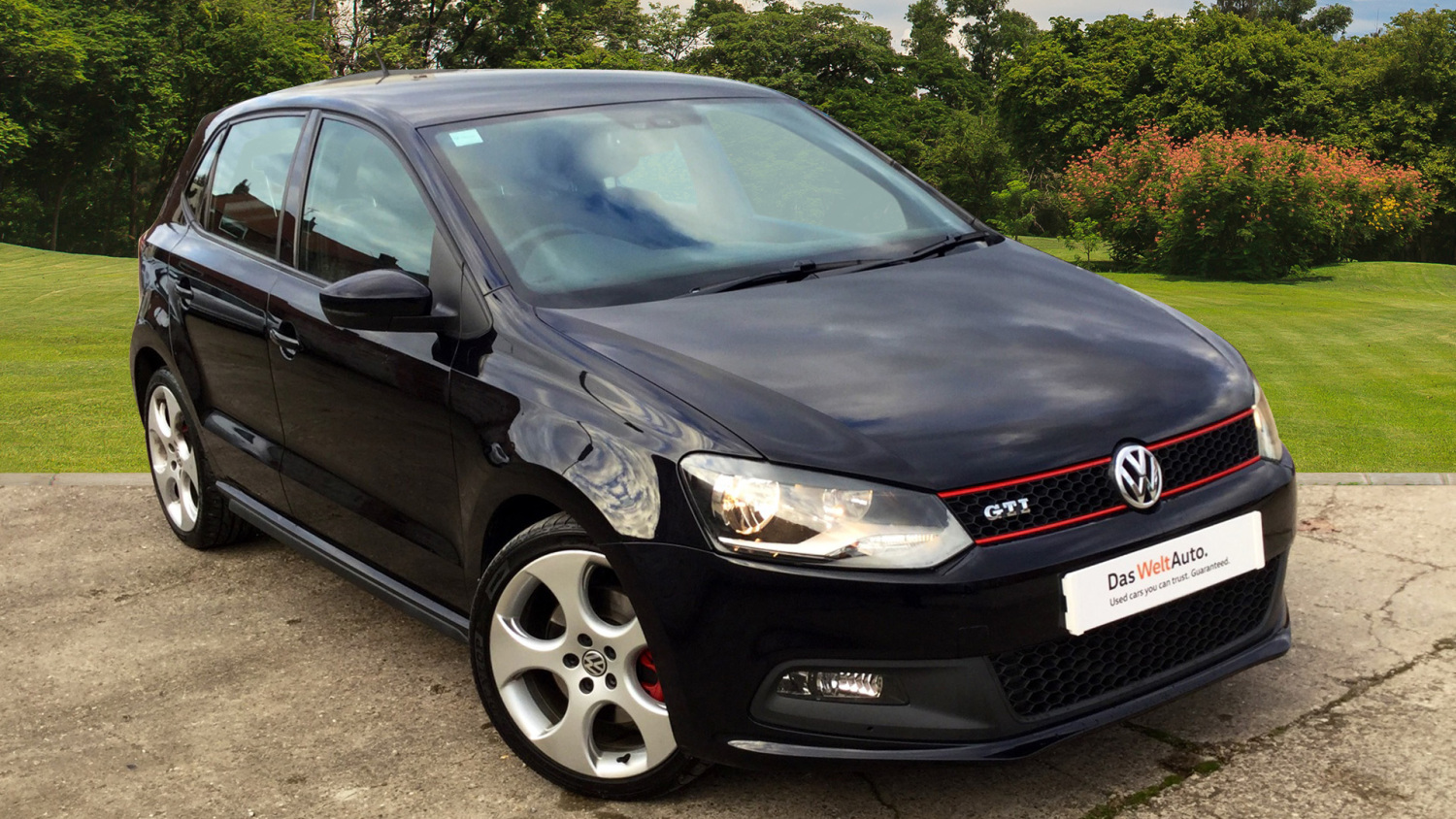 used volkswagen polo 1 4 tsi 180 gti 5dr dsg petrol hatchback for sale in scotland macklin motors. Black Bedroom Furniture Sets. Home Design Ideas