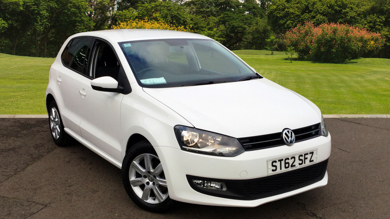 Used Volkswagen Polo 1 2 60 Match 5dr Petrol Hatchback For
