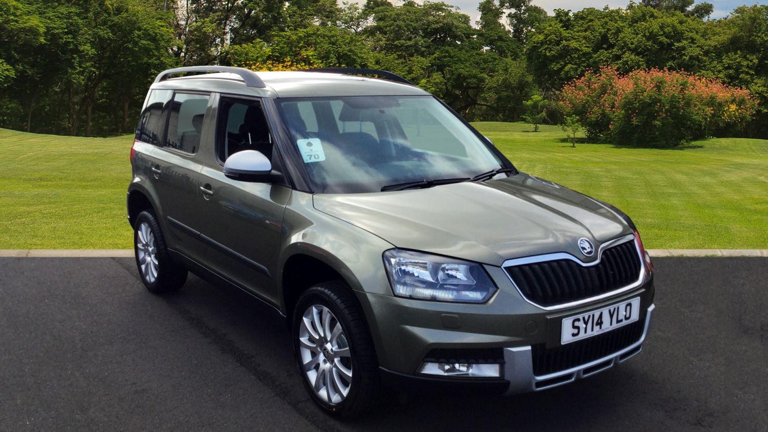 used skoda yeti outdoor 1 2 tsi se 5dr dsg petrol estate. Black Bedroom Furniture Sets. Home Design Ideas