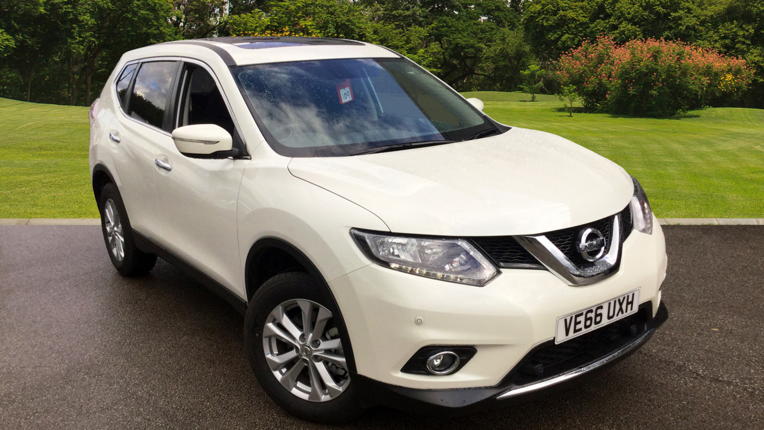used nissan x trail 1 6 dci acenta 5dr 7 seat diesel. Black Bedroom Furniture Sets. Home Design Ideas