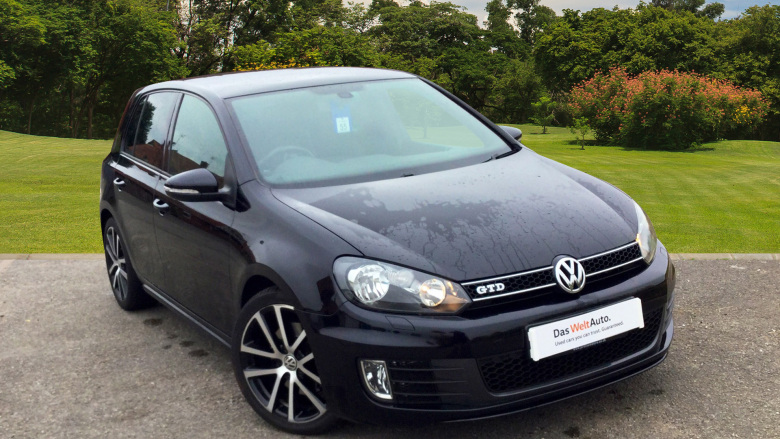 Volkswagen Golf 2.0 TDi 170 GTD 5dr DSG [Leather] Diesel Hatchback