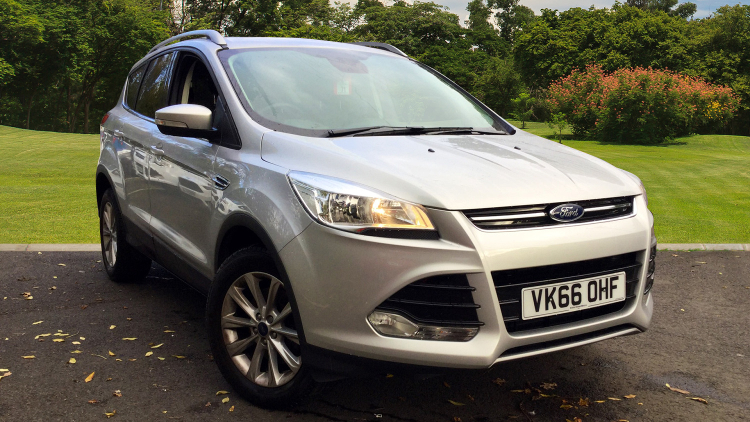 used ford kuga 2 0 tdci 150 titanium 5dr 2wd diesel estate for sale in scotland macklin motors. Black Bedroom Furniture Sets. Home Design Ideas
