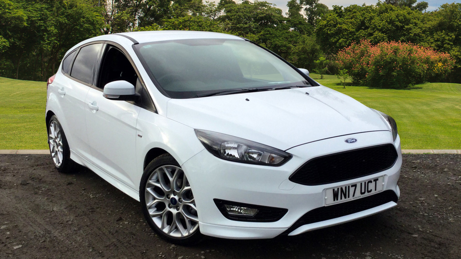 Used Ford Focus 1.5 Tdci 120 St-Line 5Dr Powershift Diesel ...