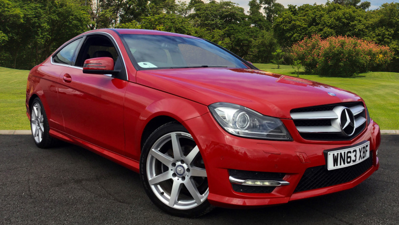 Mercedes-Benz C-Class C220 CDI BlueEFFICIENCY AMG Sport 2dr Auto Diesel Coupe