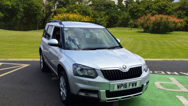 SKODA Yeti Outdoor 2.0 Tdi Cr Se L 5Dr Diesel Estate