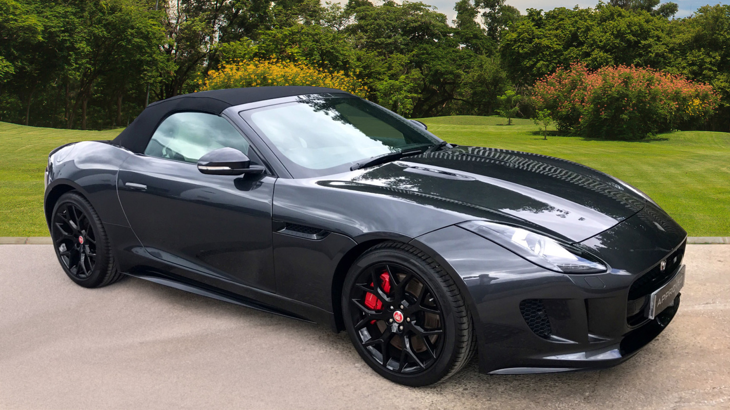 used jaguar f type 3 0 supercharged v6 s 2dr auto awd petrol convertible for sale in scotland. Black Bedroom Furniture Sets. Home Design Ideas