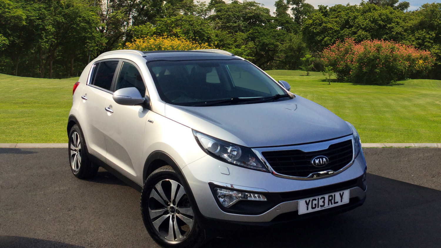 used kia sportage 2 0 crdi kx 3 5dr auto sat nav diesel. Black Bedroom Furniture Sets. Home Design Ideas