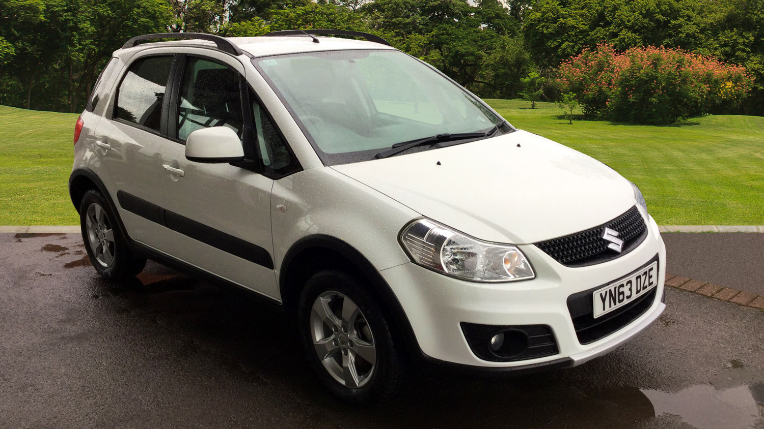 used suzuki sx4 1 6 sz5 4x4 5dr petrol hatchback for sale in scotland macklin motors. Black Bedroom Furniture Sets. Home Design Ideas