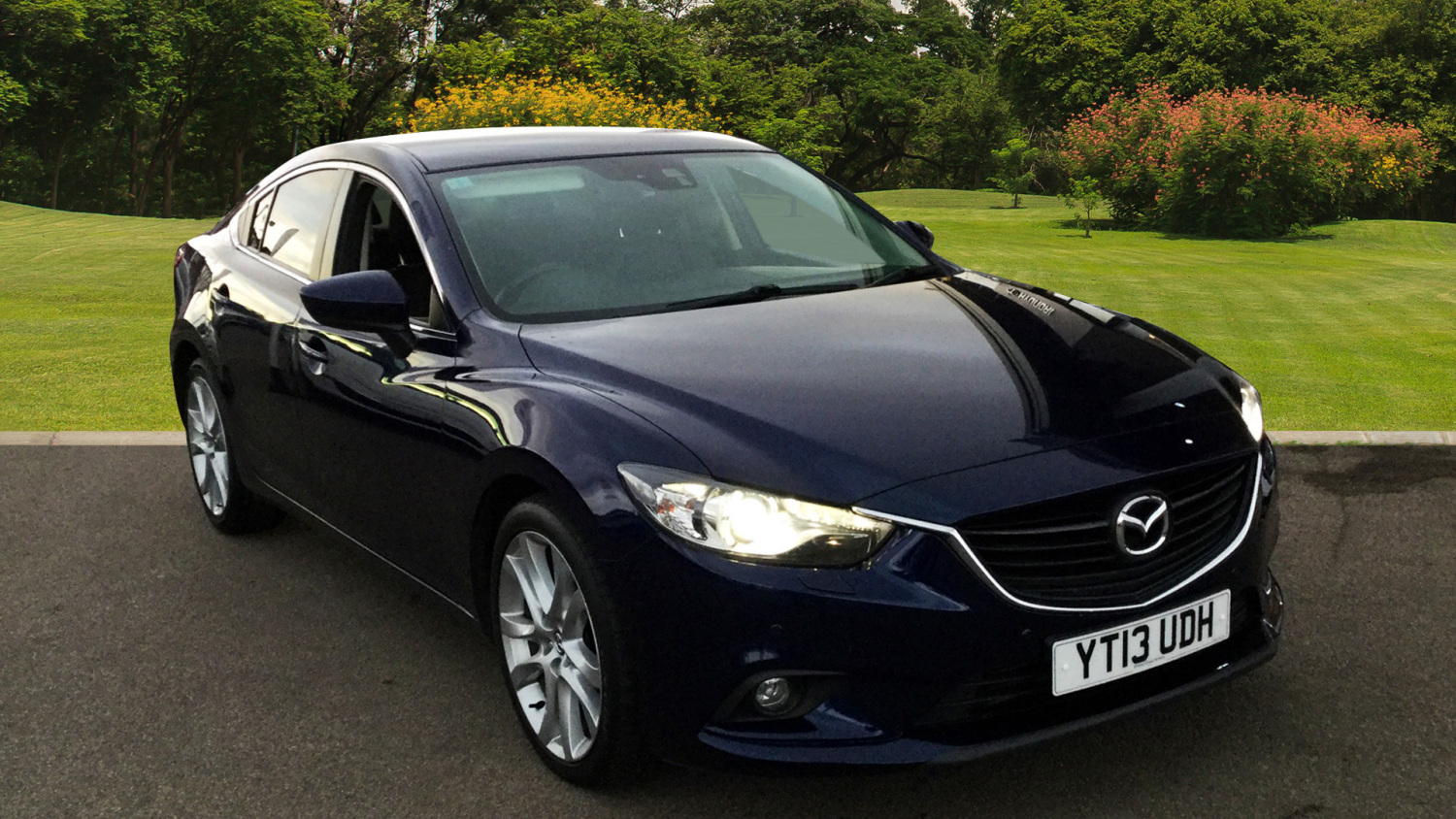 used mazda 6 2 2d sport nav 4dr diesel saloon for sale in scotland macklin motors. Black Bedroom Furniture Sets. Home Design Ideas