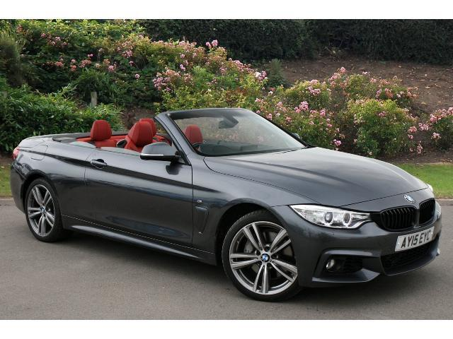 used bmw 4 series 435d xdrive m sport 2dr auto diesel convertible for sale in scotland macklin. Black Bedroom Furniture Sets. Home Design Ideas