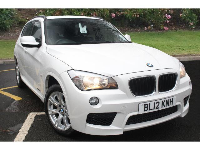 used bmw x1 xdrive 20d m sport 5dr diesel estate for sale. Black Bedroom Furniture Sets. Home Design Ideas