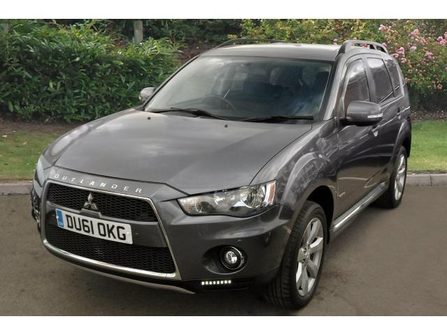 used mitsubishi outlander 2 2 di d gx3 5dr sst diesel estate for sale in scotland macklin motors. Black Bedroom Furniture Sets. Home Design Ideas
