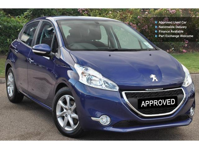 used peugeot 208 1 4 vti active 5dr petrol hatchback for. Black Bedroom Furniture Sets. Home Design Ideas