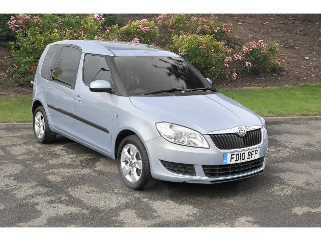 used skoda roomster 1 6 tdi cr se 5dr diesel estate for sale in scotland macklin motors. Black Bedroom Furniture Sets. Home Design Ideas
