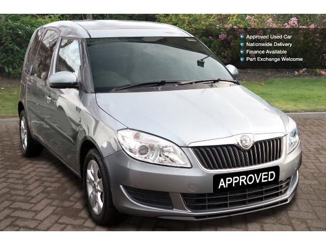 used skoda roomster 1 6 tdi cr 105 se 5dr diesel estate for sale in scotland macklin motors. Black Bedroom Furniture Sets. Home Design Ideas