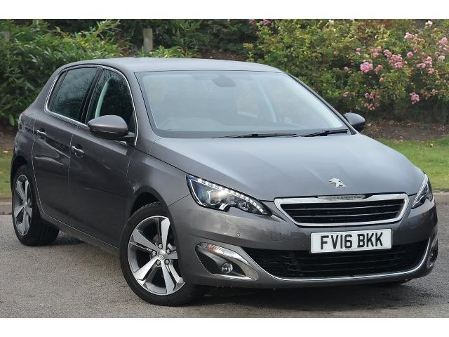 used peugeot 308 1 2 puretech 130 allure 5dr eat6 petrol hatchback for sale in scotland. Black Bedroom Furniture Sets. Home Design Ideas