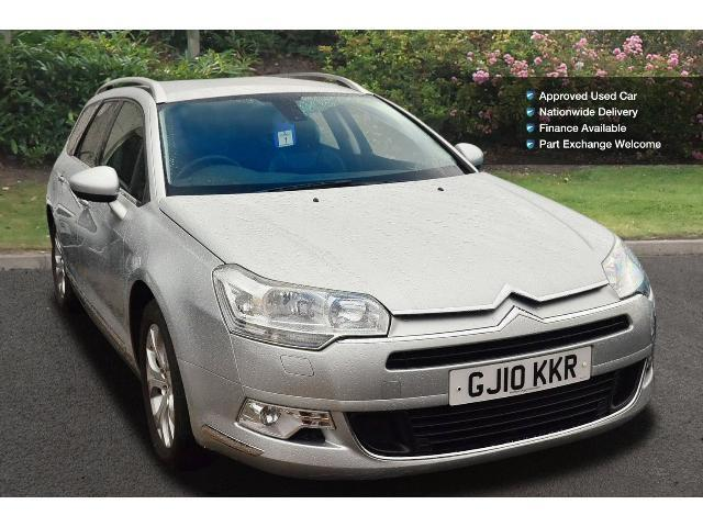 used citroen c5 2 0hdi 16v exclusive 5dr auto diesel tourer for sale in scotland macklin motors. Black Bedroom Furniture Sets. Home Design Ideas