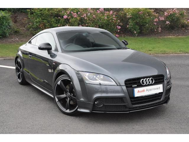 used audi tt 2 0 tdi quattro black edition 2dr s tronic diesel coupe for sale in scotland. Black Bedroom Furniture Sets. Home Design Ideas