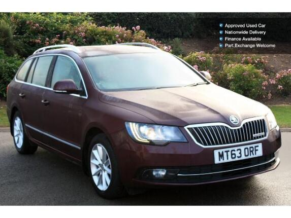 used skoda superb 1 6 tdi cr elegance greenline iii 5dr diesel estate for sale in scotland. Black Bedroom Furniture Sets. Home Design Ideas