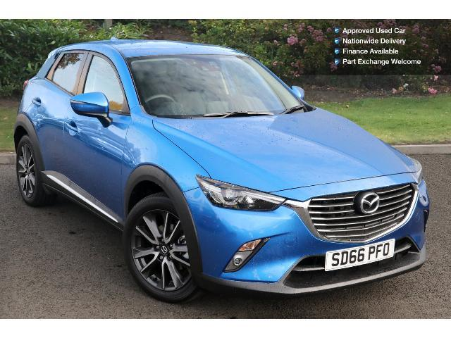 used mazda cx 3 2 0 sport nav 5dr awd petrol hatchback for sale in scotland macklin motors. Black Bedroom Furniture Sets. Home Design Ideas