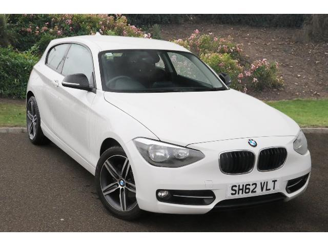 used bmw 1 series 114i sport 3dr petrol hatchback for sale. Black Bedroom Furniture Sets. Home Design Ideas