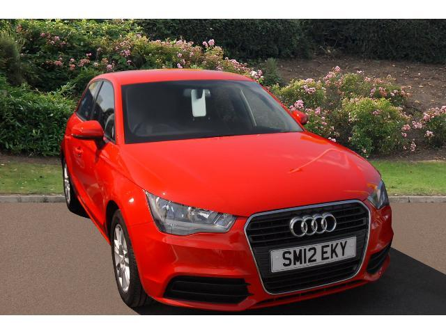 used audi a1 1 6 tdi se 5dr diesel hatchback for sale in scotland macklin motors. Black Bedroom Furniture Sets. Home Design Ideas