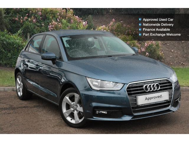 used audi a1 1 6 tdi sport 5dr s tronic diesel hatchback. Black Bedroom Furniture Sets. Home Design Ideas