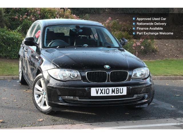 used bmw 1 series 116d se 5dr diesel hatchback for sale in. Black Bedroom Furniture Sets. Home Design Ideas