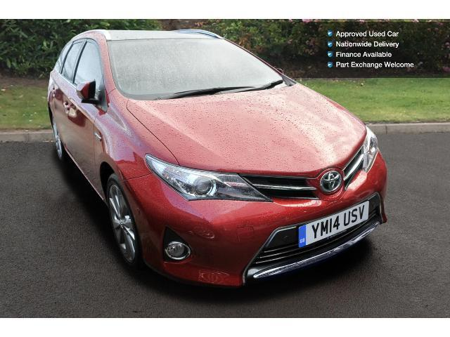 used toyota auris 1 8 vvti hybrid excel 5dr cvt auto hybrid estate for sale in scotland. Black Bedroom Furniture Sets. Home Design Ideas