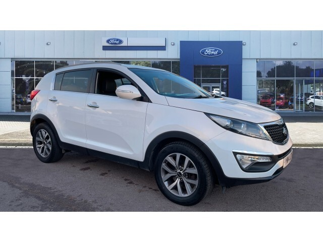 used kia sportage 1 7 crdi white edition 5dr diesel estate for sale in scotland macklin motors. Black Bedroom Furniture Sets. Home Design Ideas