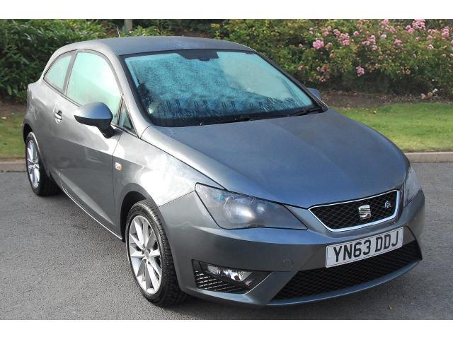 used seat ibiza 1 6 tdi cr fr 3dr diesel hatchback for sale in scotland macklin motors. Black Bedroom Furniture Sets. Home Design Ideas